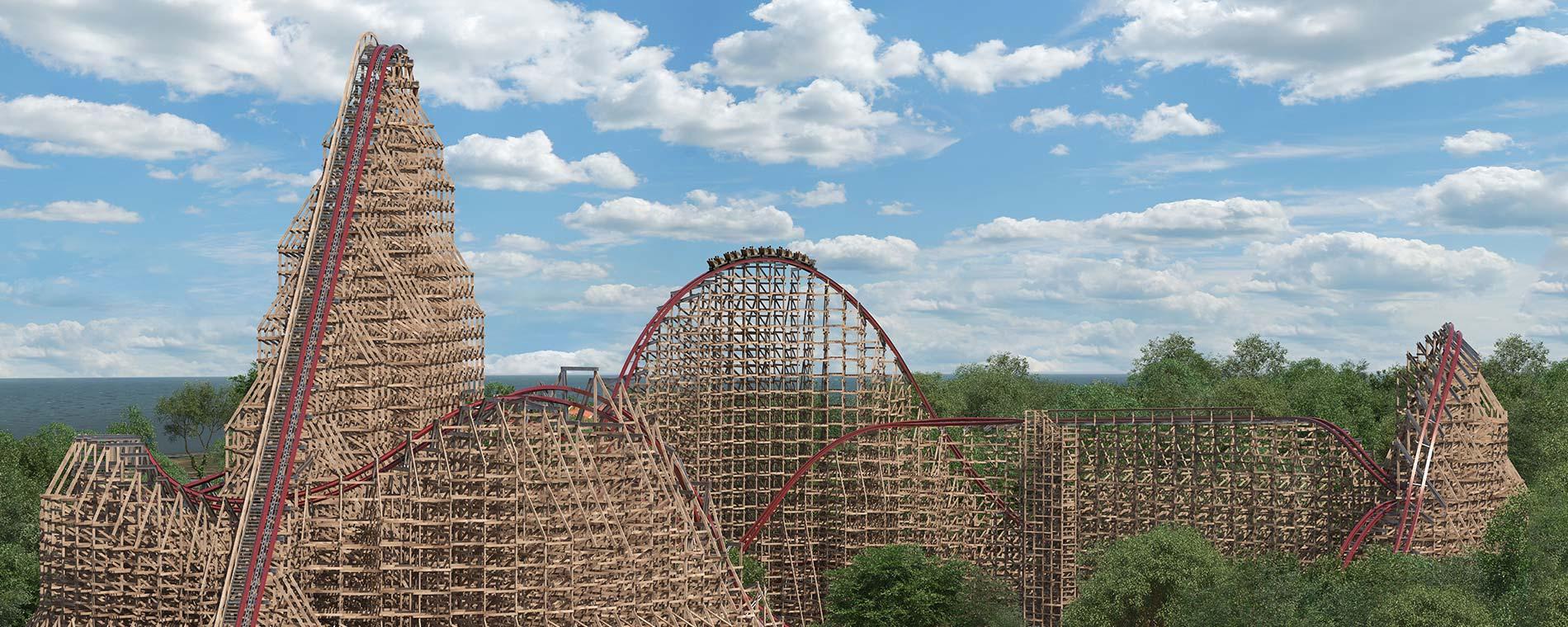 Cedar Point Announces Record Breaking Steel Vengeance For 2018