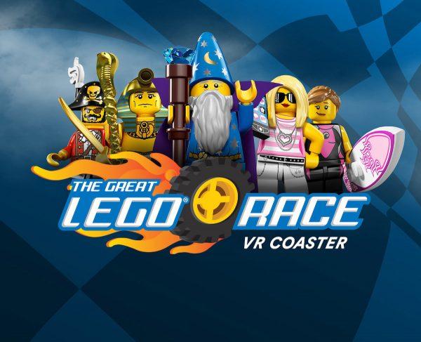 The Great Lego Race VR Coaster at Legoland