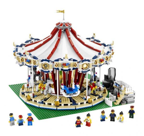lego merry go round set