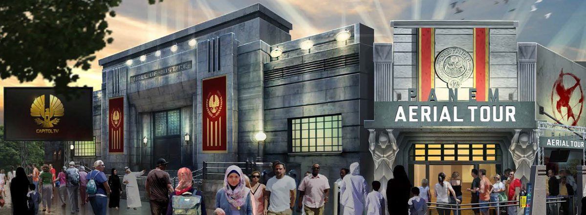 """World's First """"Hunger Games"""" Land Opens at Motiongate ..."""