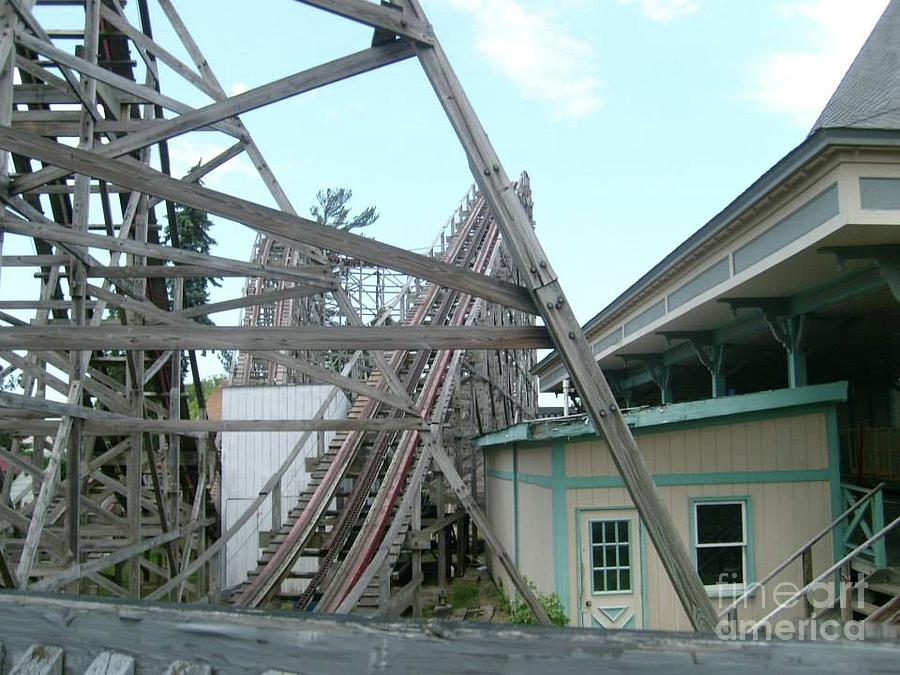 Abandoned Geauga Lake amusement park