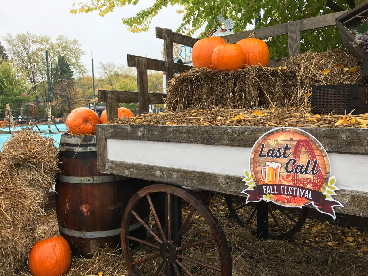 Last Call Fall Festival at Six Flags Great America