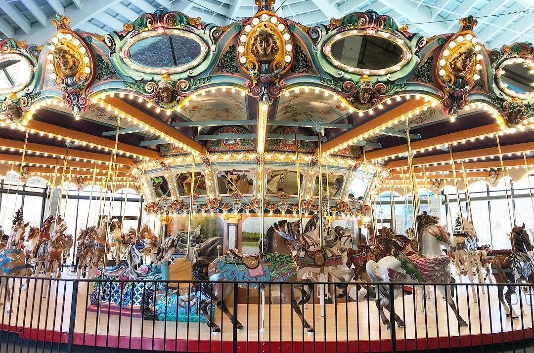 former libertyland 1923 dentzel carousel reopens in memphis coaster101. Black Bedroom Furniture Sets. Home Design Ideas