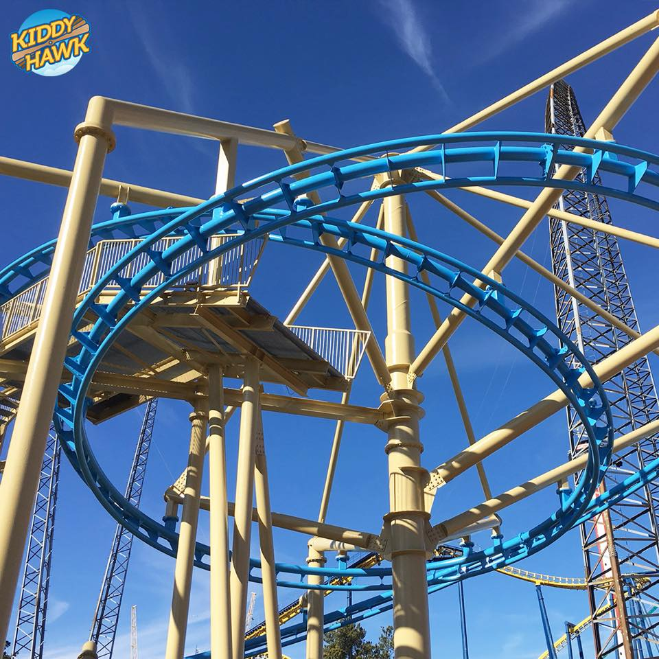 Carowinds Flying Ace Aerial Chase To Become Kiddy Hawk In