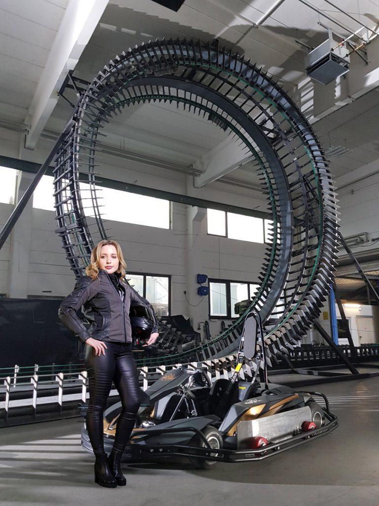 meet the world 39 s first looping go kart coaster101. Black Bedroom Furniture Sets. Home Design Ideas