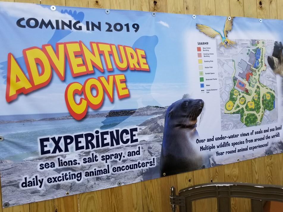Columbus Zoo Adventure Cove Construction Update Coaster101