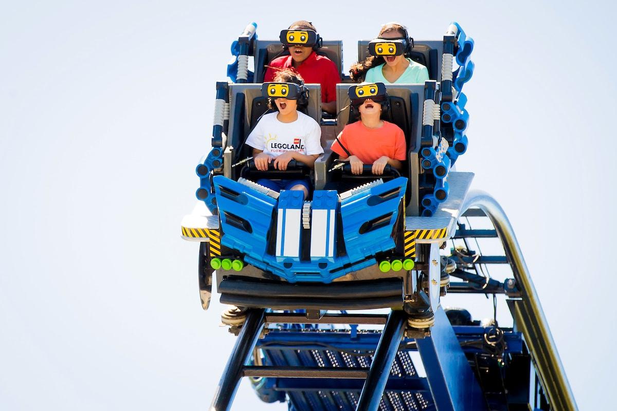 Legoland Florida Opens Great Lego Race VR Coaster - Coaster101
