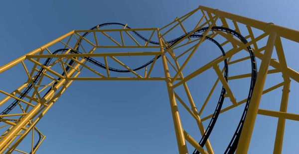 The Largest Coaster Ever Manufactured By SS Will Break Two Records Tallest Inversion At 197 Tall And Most Inversions On A Roller In United