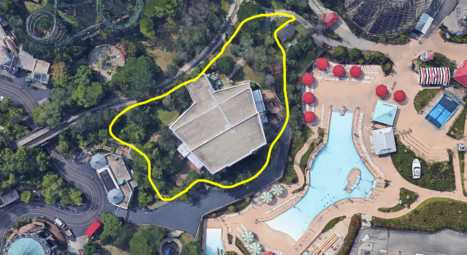 Map Of 6 Flags Great America.Six Flags Great America 2019 Theories And Land Clearing Updated