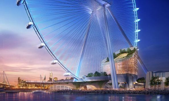 Tallest Ferris Wheel In The World >> World S Tallest Observation Wheel Proposed For San Francisco