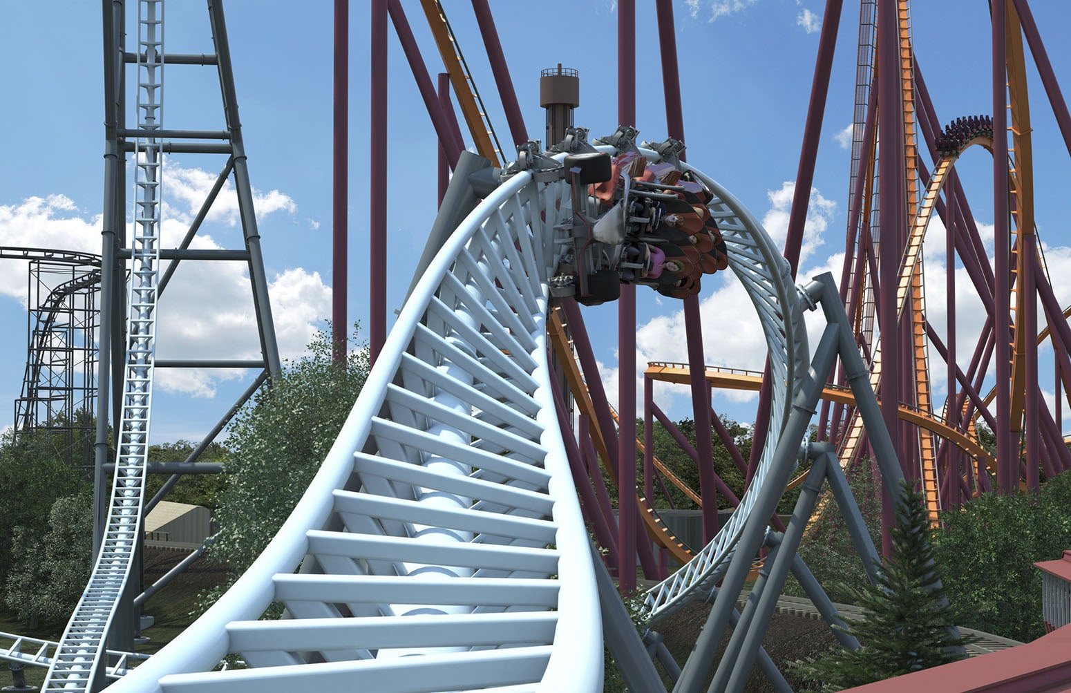 Top 5 Coasters at Six Flags Great America - Coaster101
