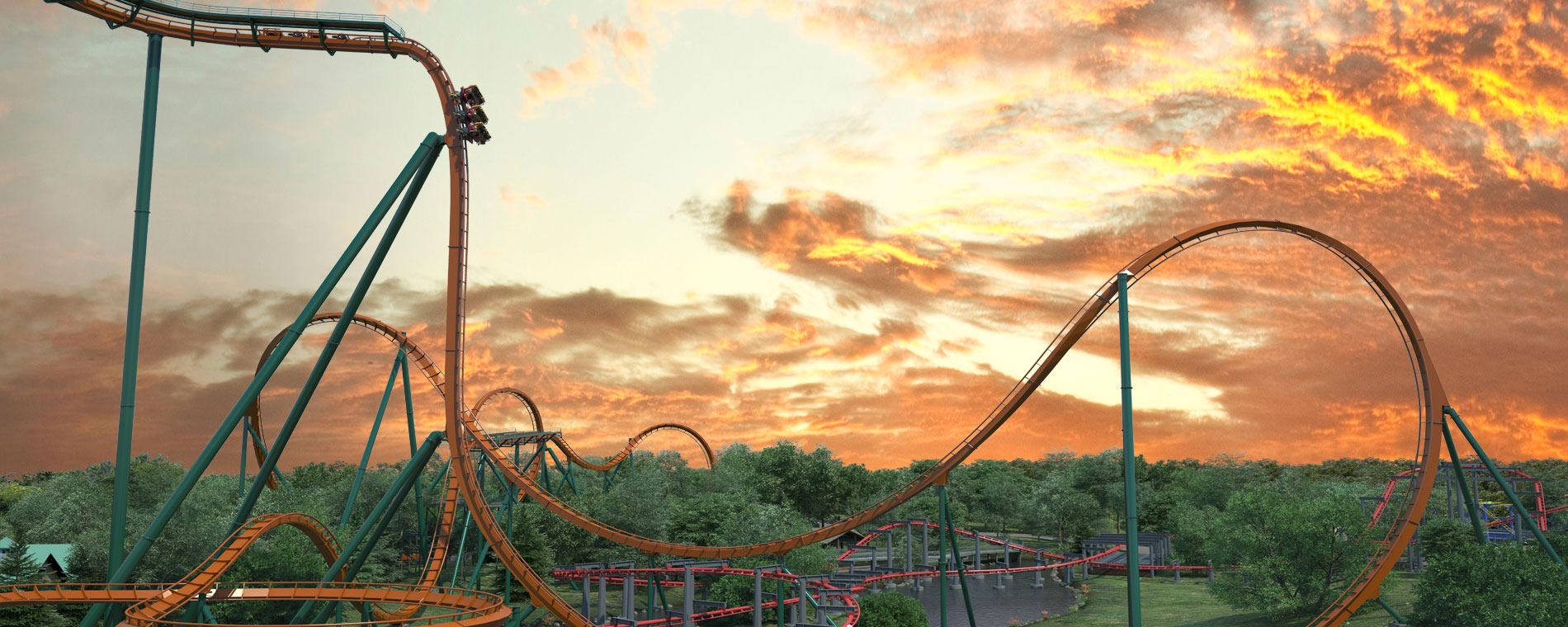 Yukon Striker Dive Coaster Opening at Canada's Wonderland in 2019