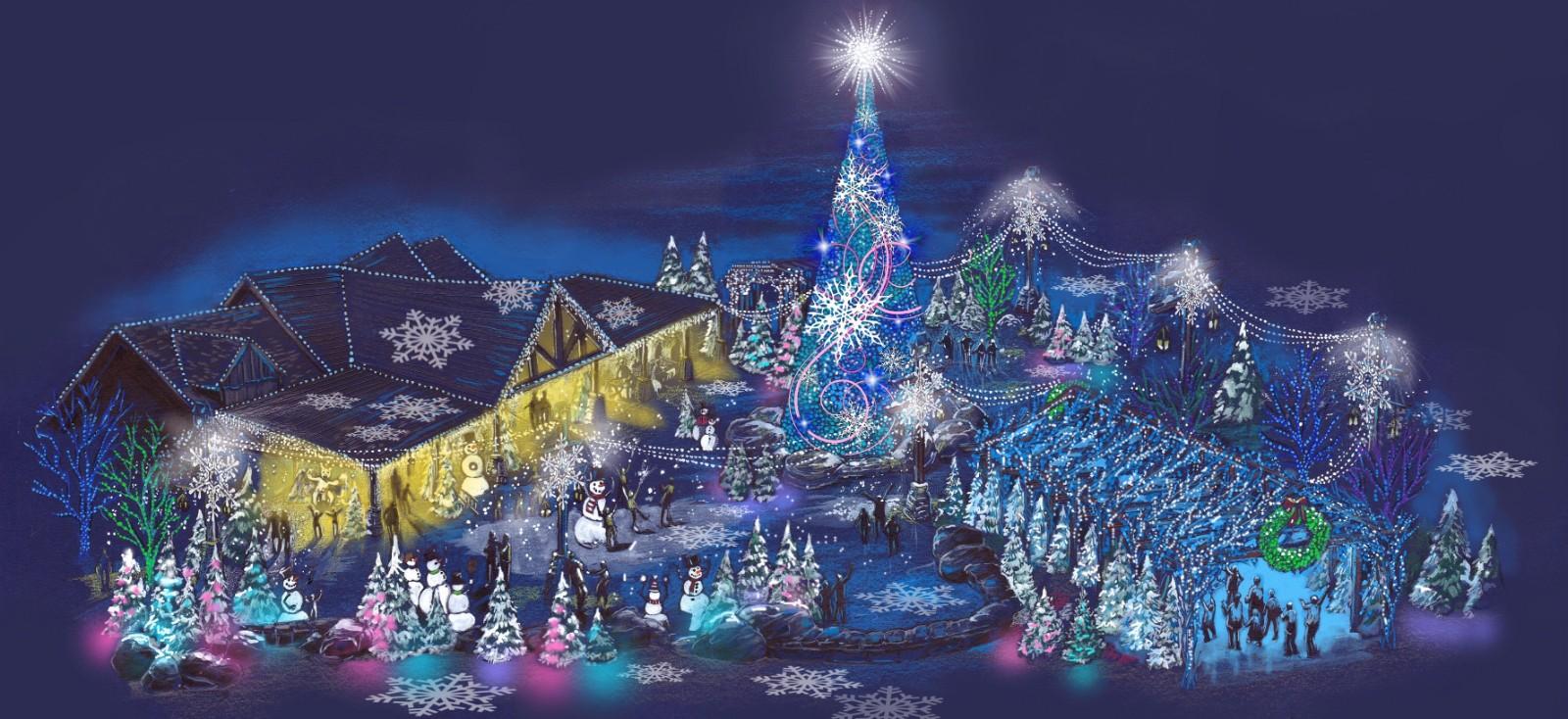 Dollywood Christmas.Dollywood Readies New Glacier Ridge For Smoky Mountain