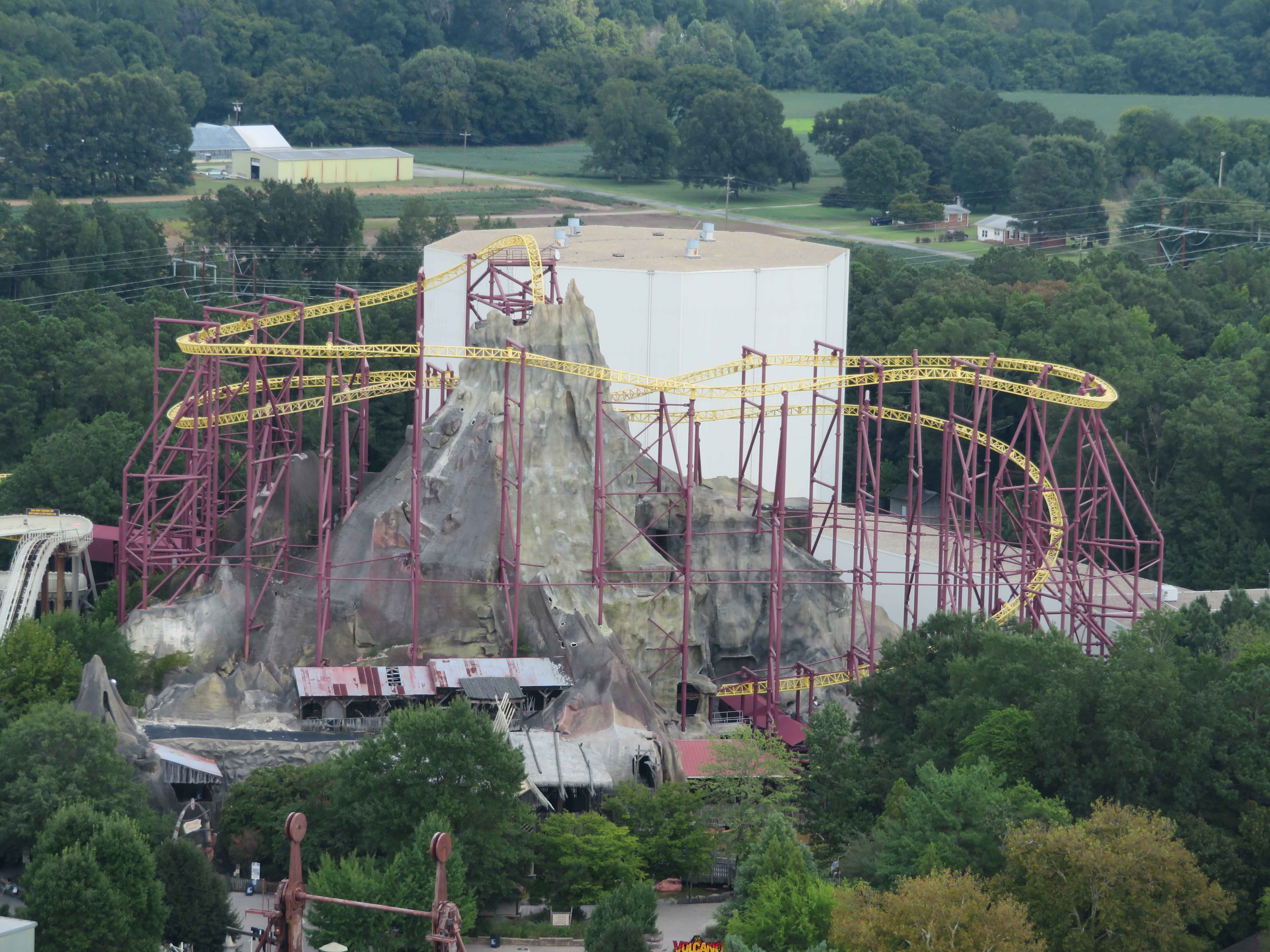 Kings Dominion Announces Removal of Volcano: The Blast