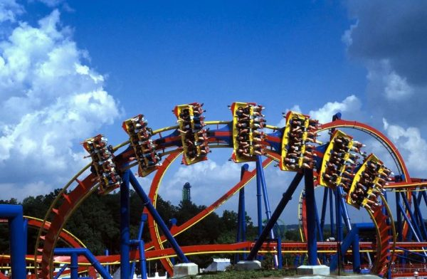 Top 5 Best Coasters at Six Flags Over Georgia