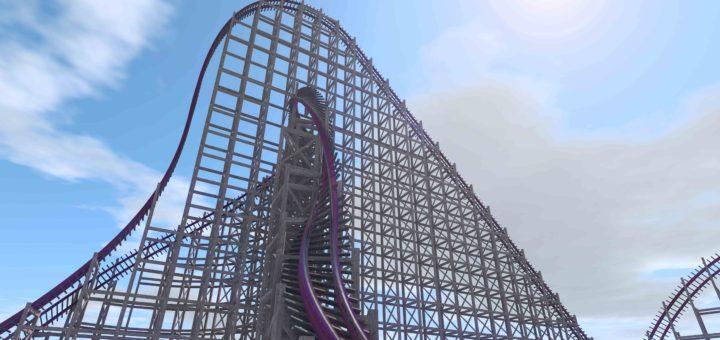 Busch Gardens' Gwazi Conversion to become World's Fastest, Steepest Hybrid Coaster