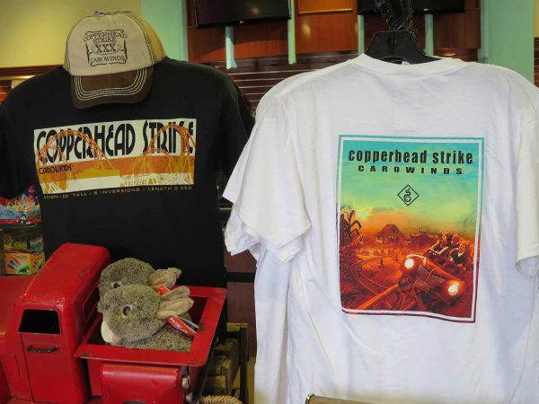 e9dff035dc246a Carowinds also has a selection of Copperhead Strike merchandise available  for purchase. I m fairly certain that a Copperhead Strike cup will be  coming home ...