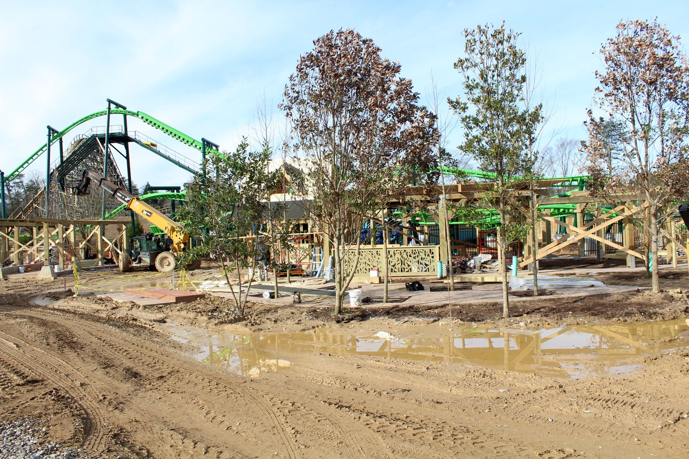Wildwood Grove Dollywood Construction Update March 2019