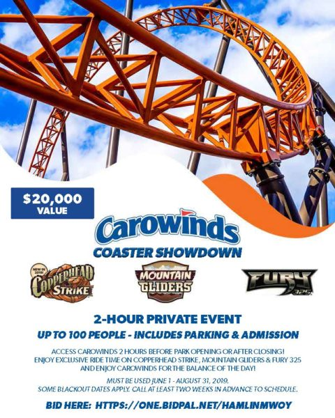 Carowinds Offering Exclusive