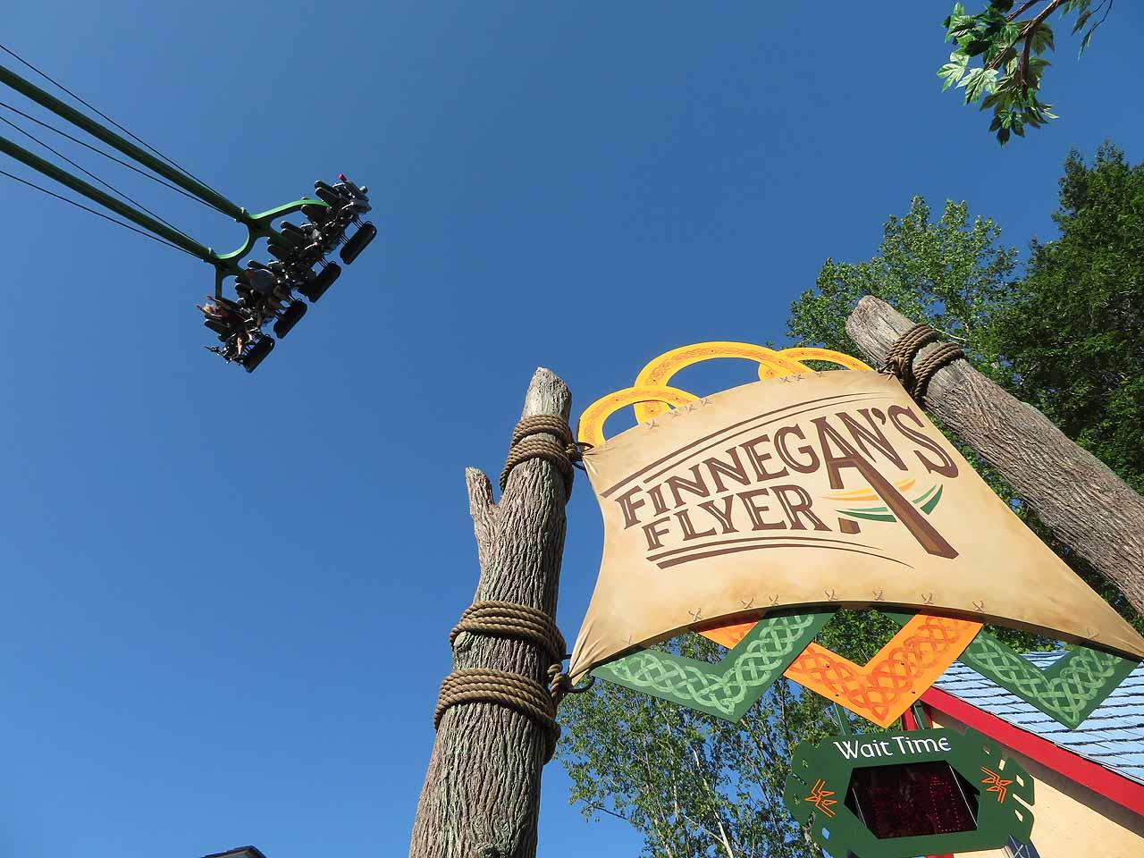 Finnegan S Flyer Takes Flight At Busch Gardens Williamsburg Coaster101