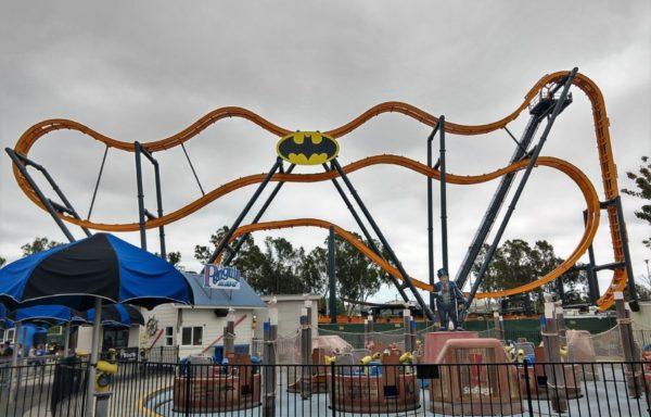 Batman the Ride Flips Into Six Flags Discovery Kingdom