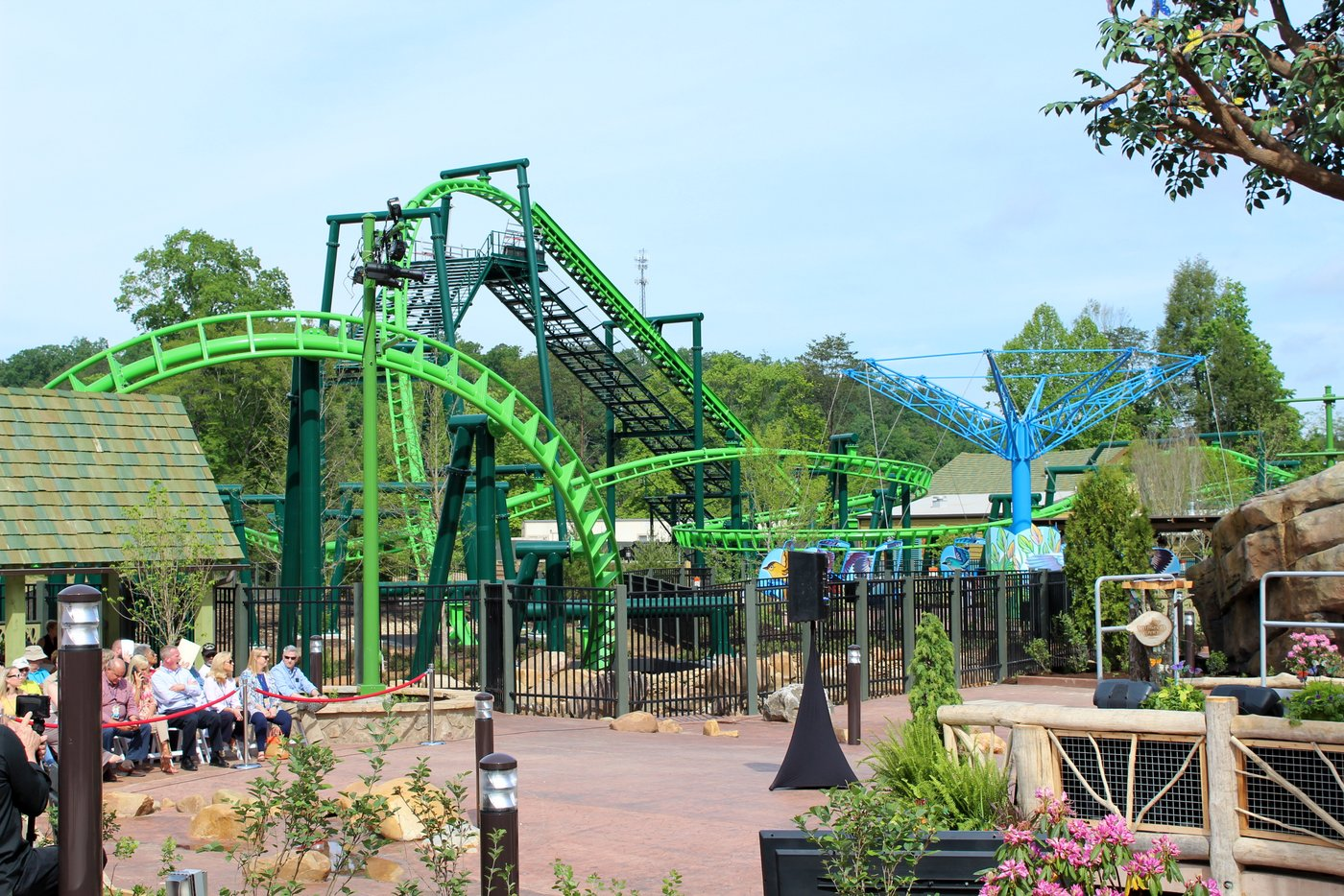 Wildwood Grove Opens at Dollywood - Coaster101