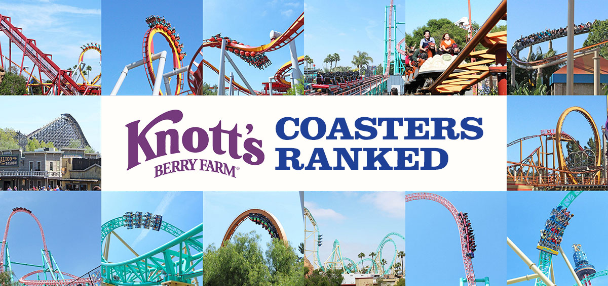 Get Away Today Experiences Anaheim and Knott's Berry Farm |Knotts Berry Farm Coasters