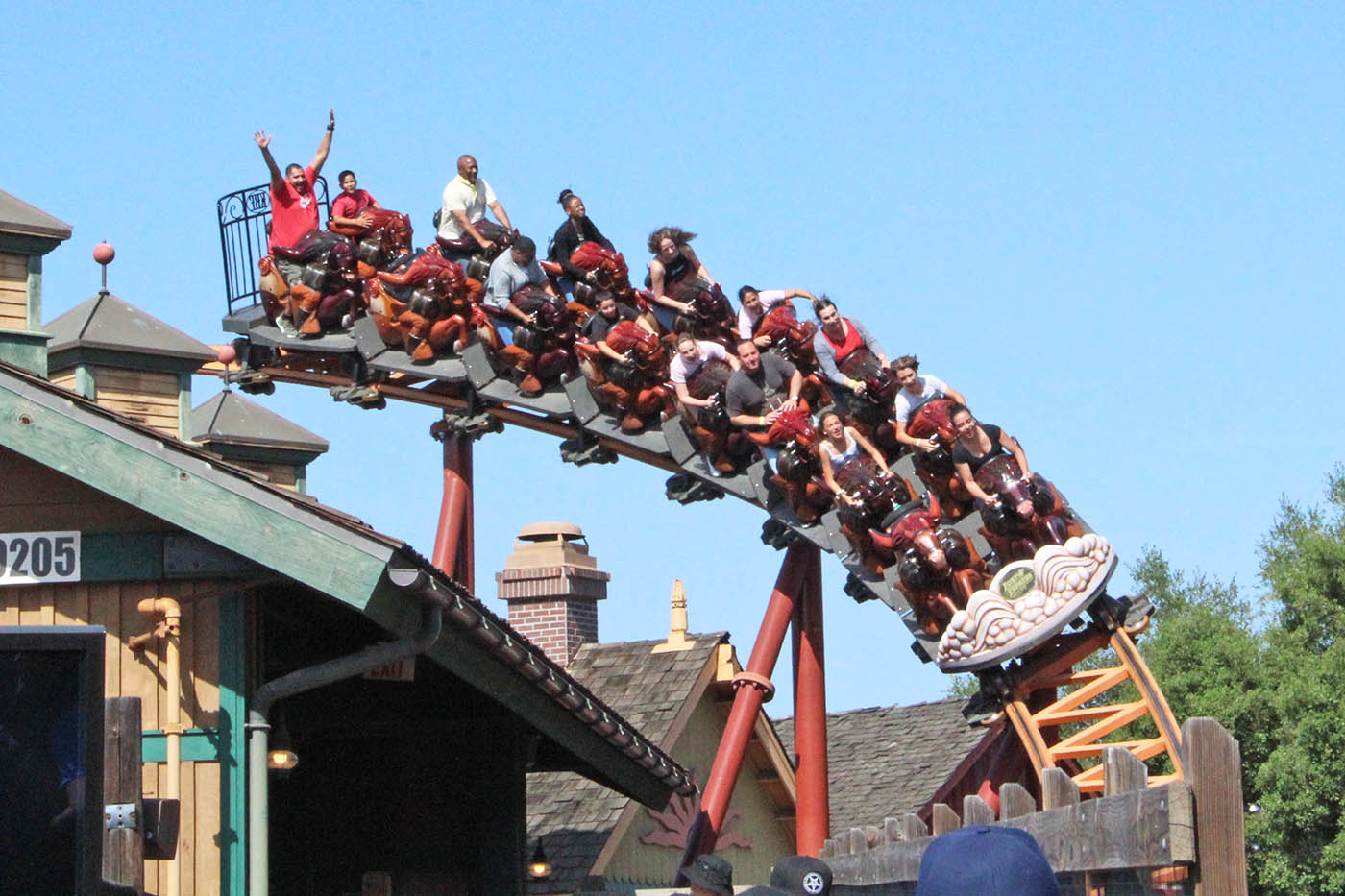 Knott's Berry Farm New Coaster Features Steepest Drop in ... |Knotts Berry Farm Coasters