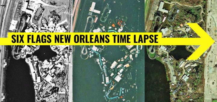 six flags new orleans map Six Flags New Orleans Archives Coaster101 six flags new orleans map