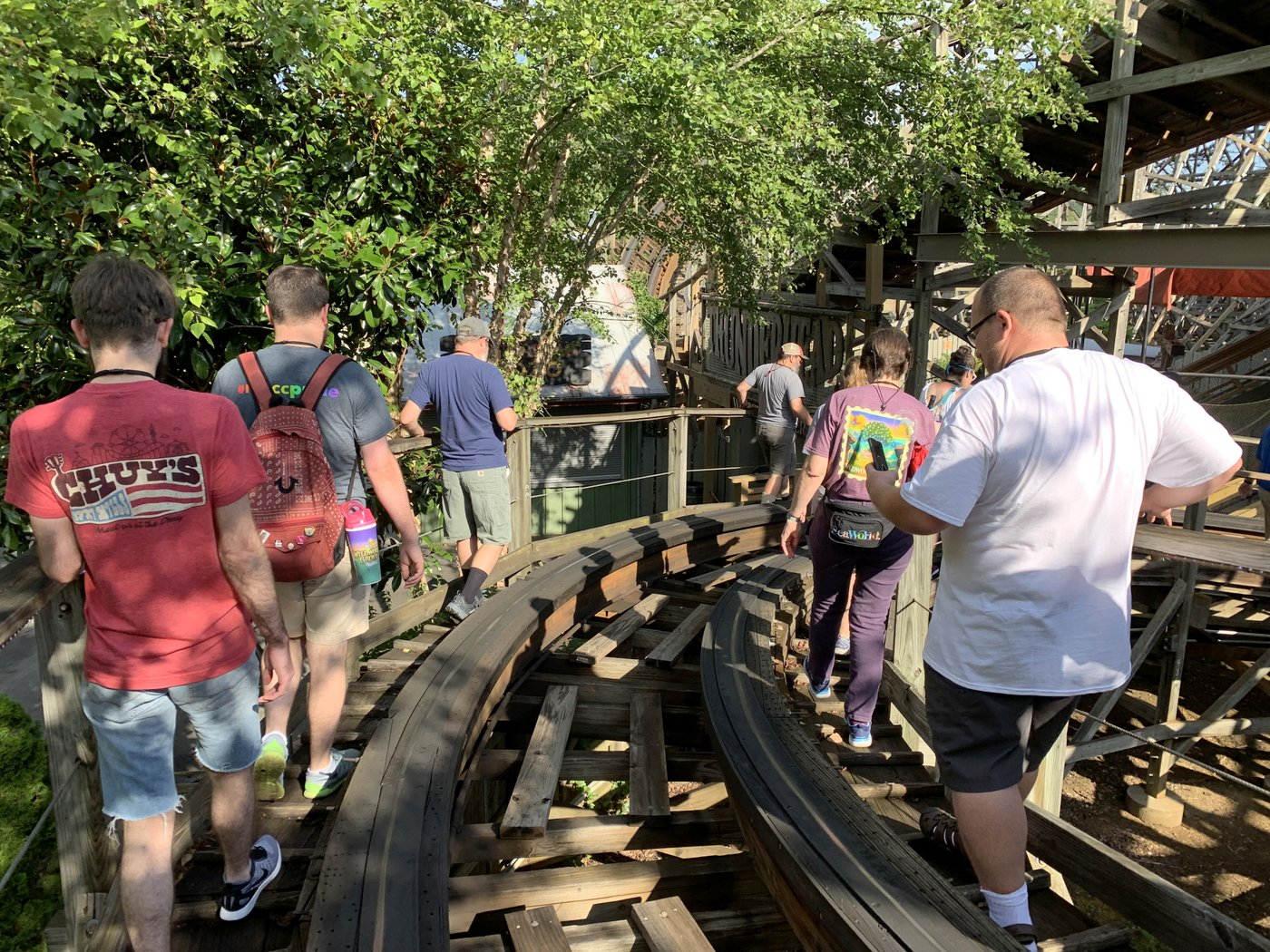 Climbing to the Top of Thunderhead at Dollywood - Coaster101