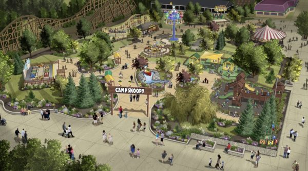 Camp Snoopy Coming To Michigan S Adventure In 2020 Coaster101