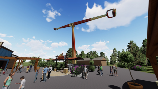 Six Flags St Louis And Great Escape To Add Giant Arm Swing