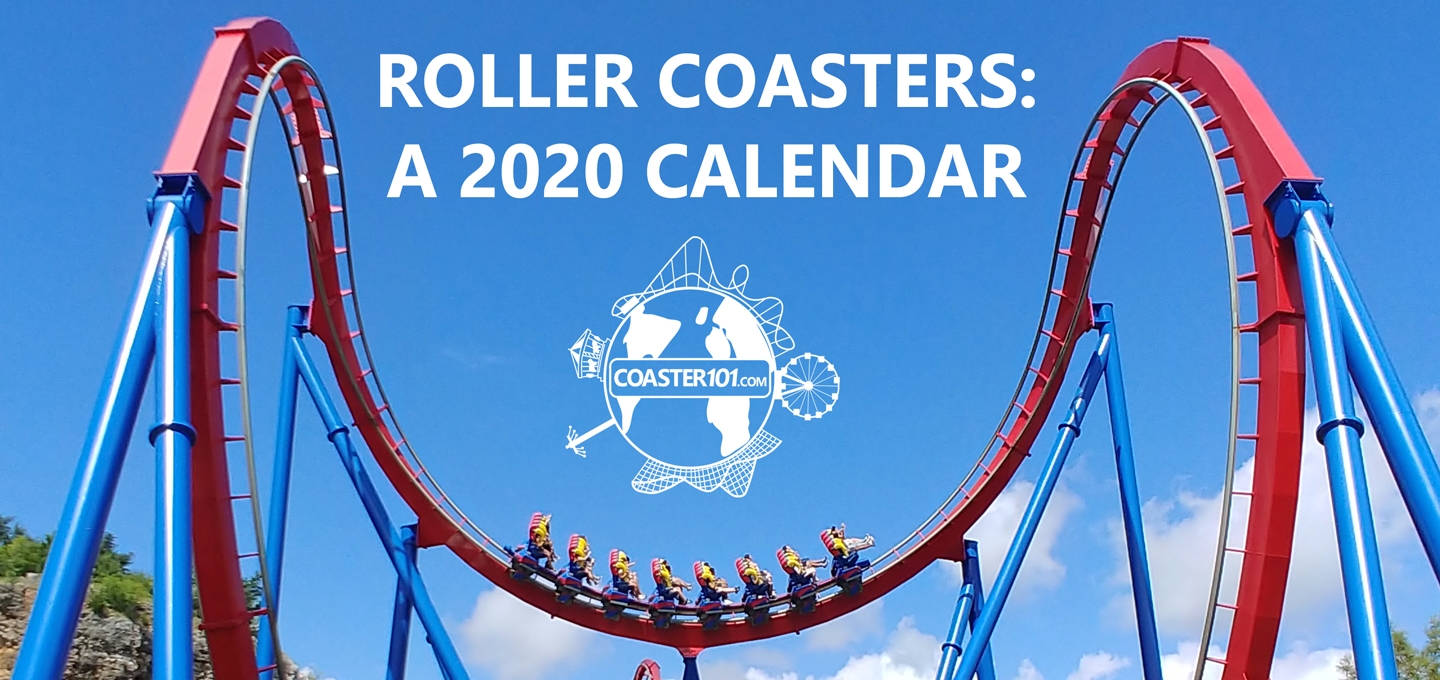2020 Coaster101 Calendars Now On Sale, 100% of Net Proceeds to Give Kids The World