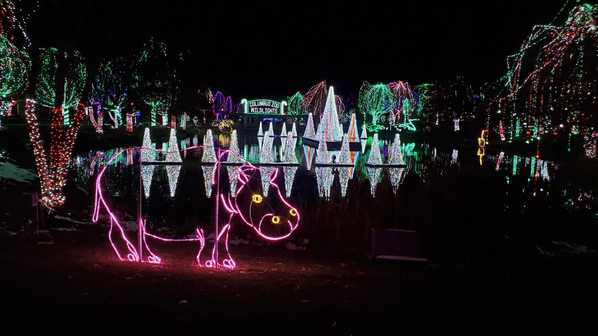 columbus zoo lights 2020