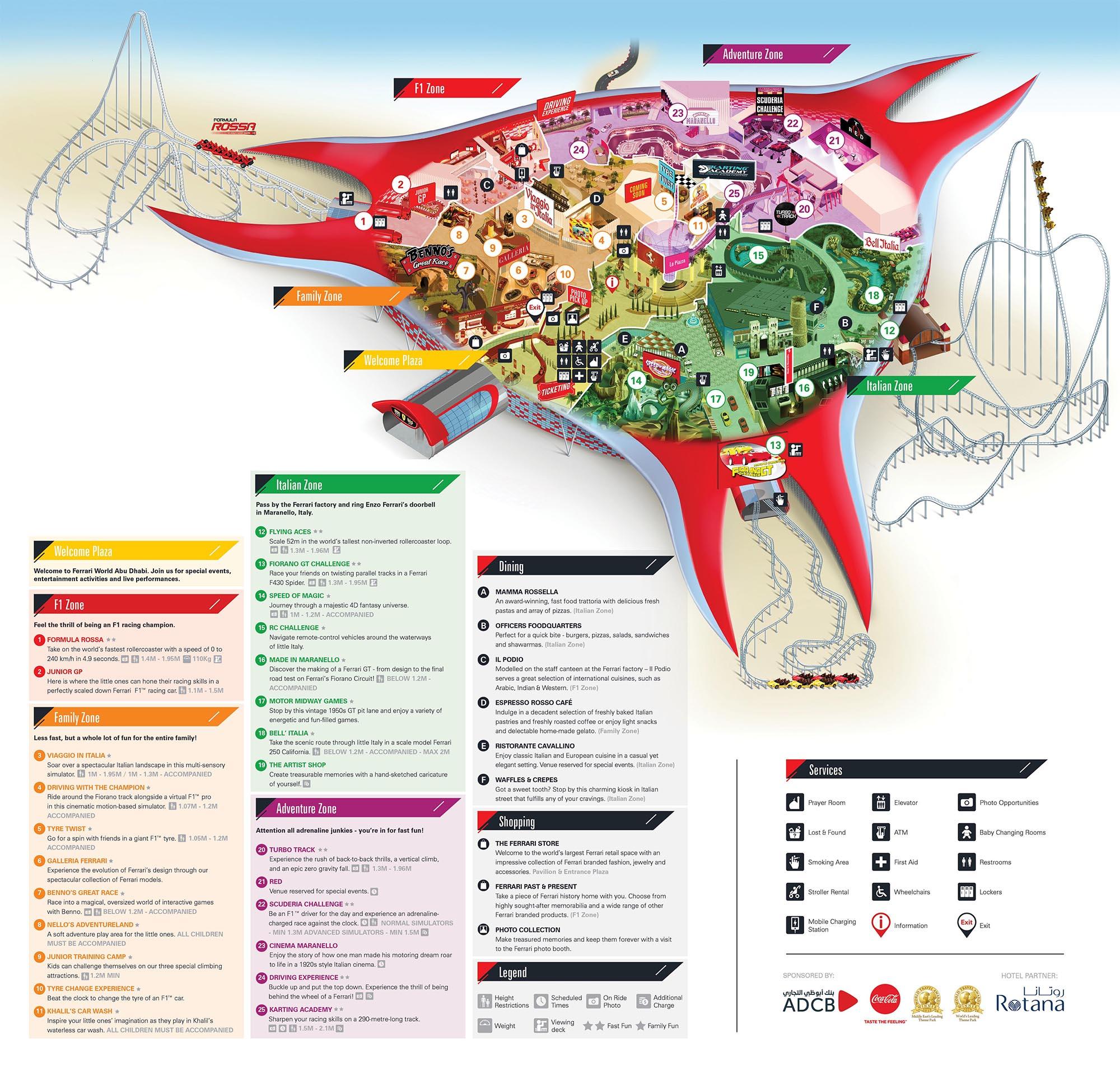 Ferrari World Abu Dhabi Celebrates 10 Years With New Rides Coaster101