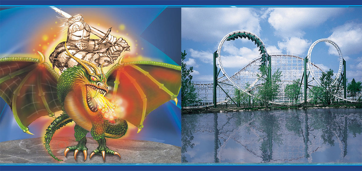 Adventureland Iowa Removing Dragon Coaster and Teasing 2021 - Coaster101