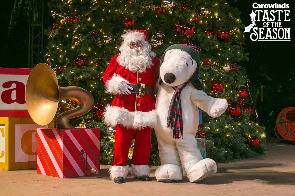 Christmas At Carowinds Dates 2021 Carowinds Announces Taste Of The Season Outdoor Holiday Event Coaster101
