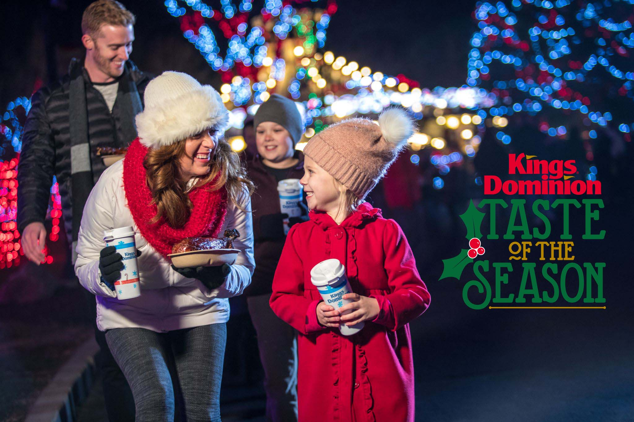When Does Kings Close On Christmas Eve 2020 Kings Dominion Gets Into the Christmas Spirit with Taste of the