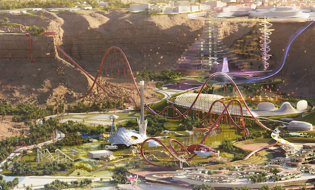 New Details Revealed About the World's Tallest, Fastest and Longest Coaster